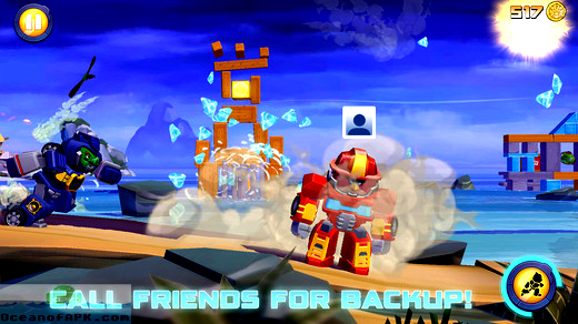 Angry Birds Transformers APK Download For Free