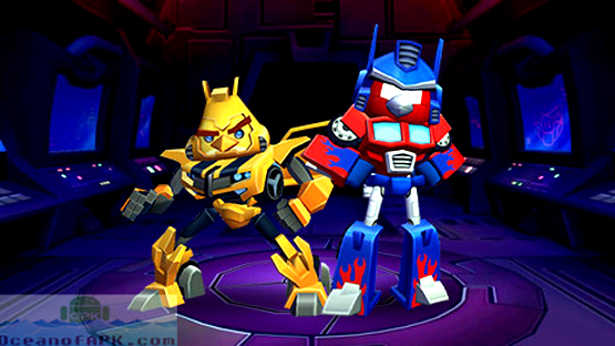 Angry Birds Transformers APK Features