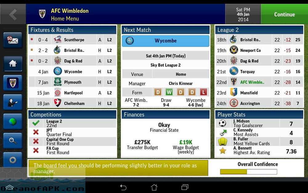 Football Manager Handheld 2015 APK Setup Free Download
