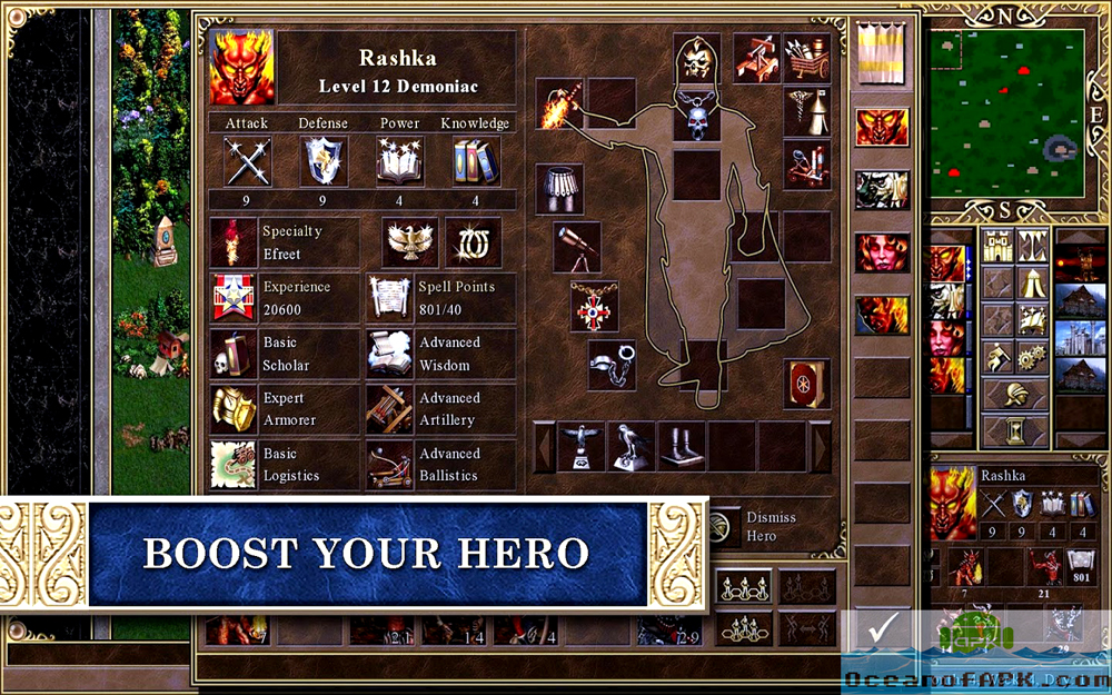Heroes of Might & Magic III HD Features