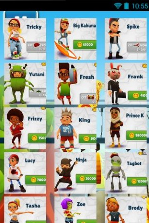 Subway Surfers All Characters unlocked APK