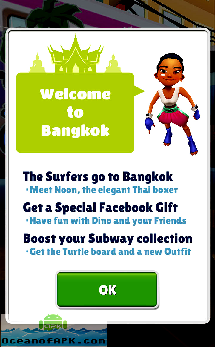Subway Surfers Bangkok Thailand APK Free Download
