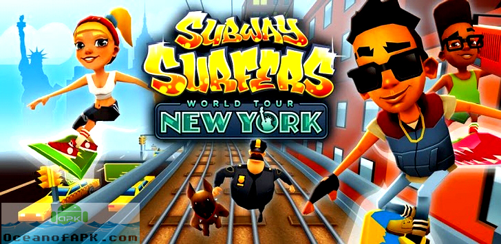 Subway surfers: world tour new york for android free download.