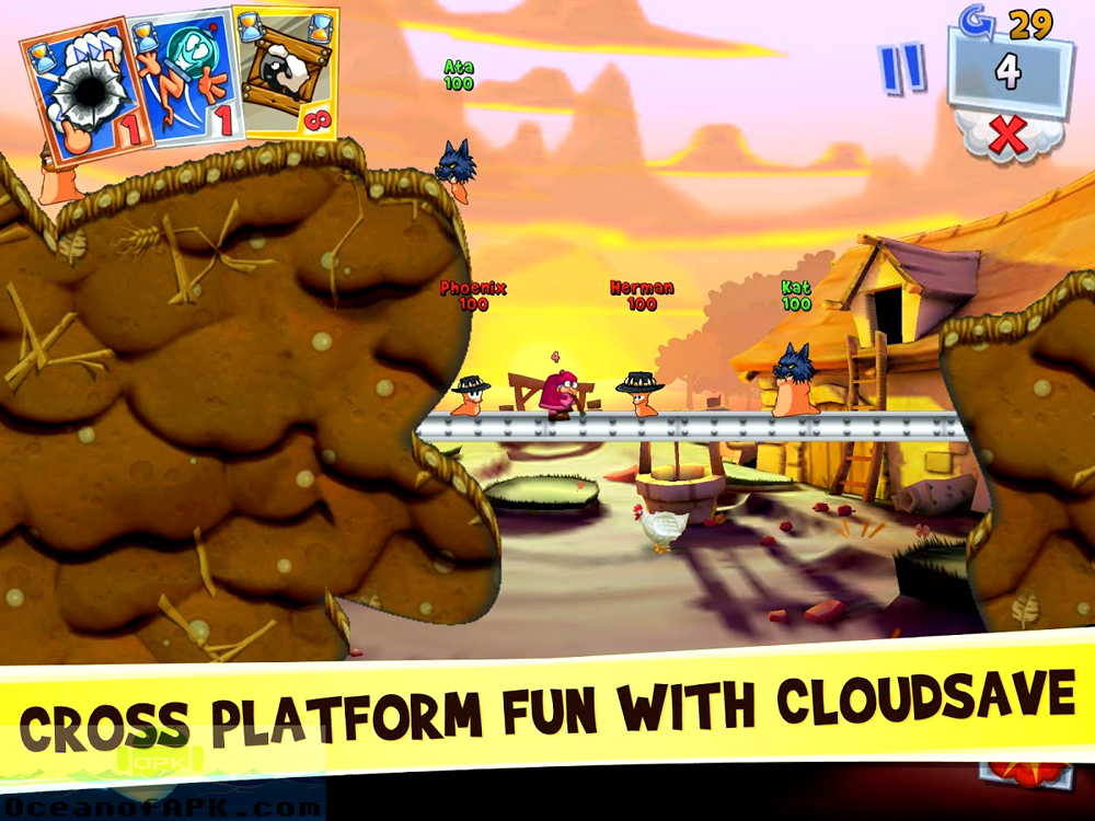 worms 3 apk free download