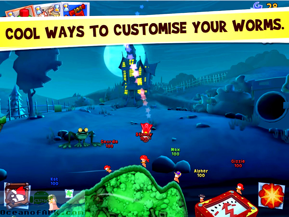 Worms 3 APK Setup Download For Free