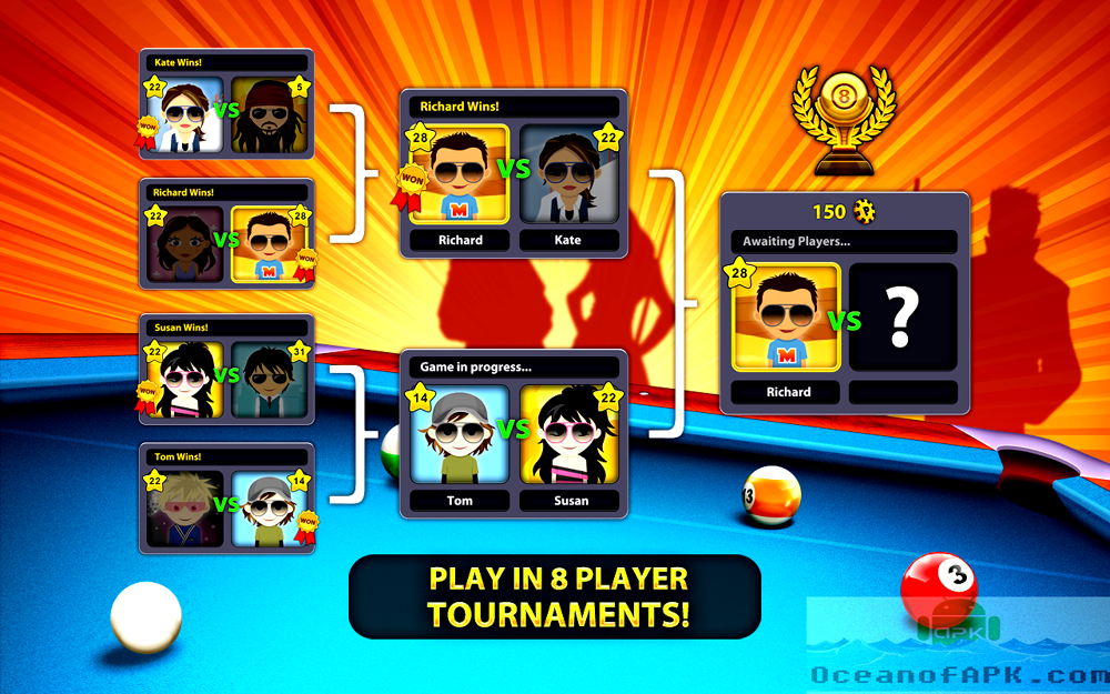 8 Ball Pool Mod with Autowin APK Setup Free Download