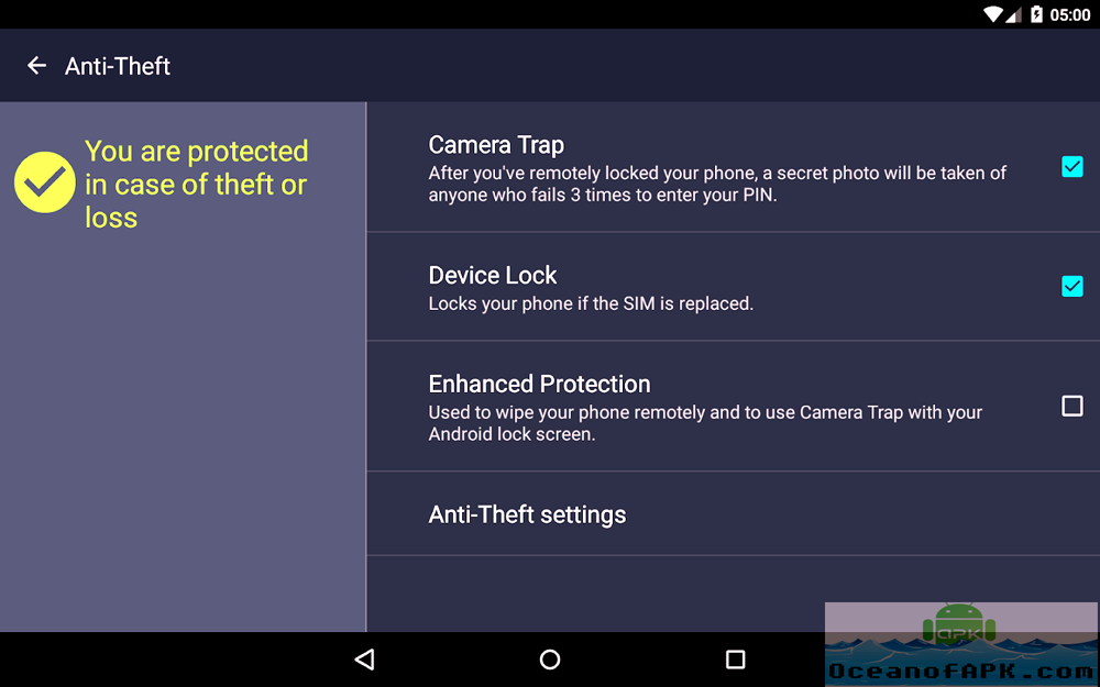 Android AVG Antivirus PRO APK Download For Free