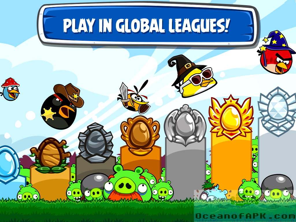 Angry Birds Friends APK Features