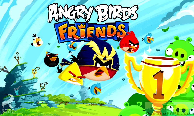 Angry Birds Friends APK Free Download