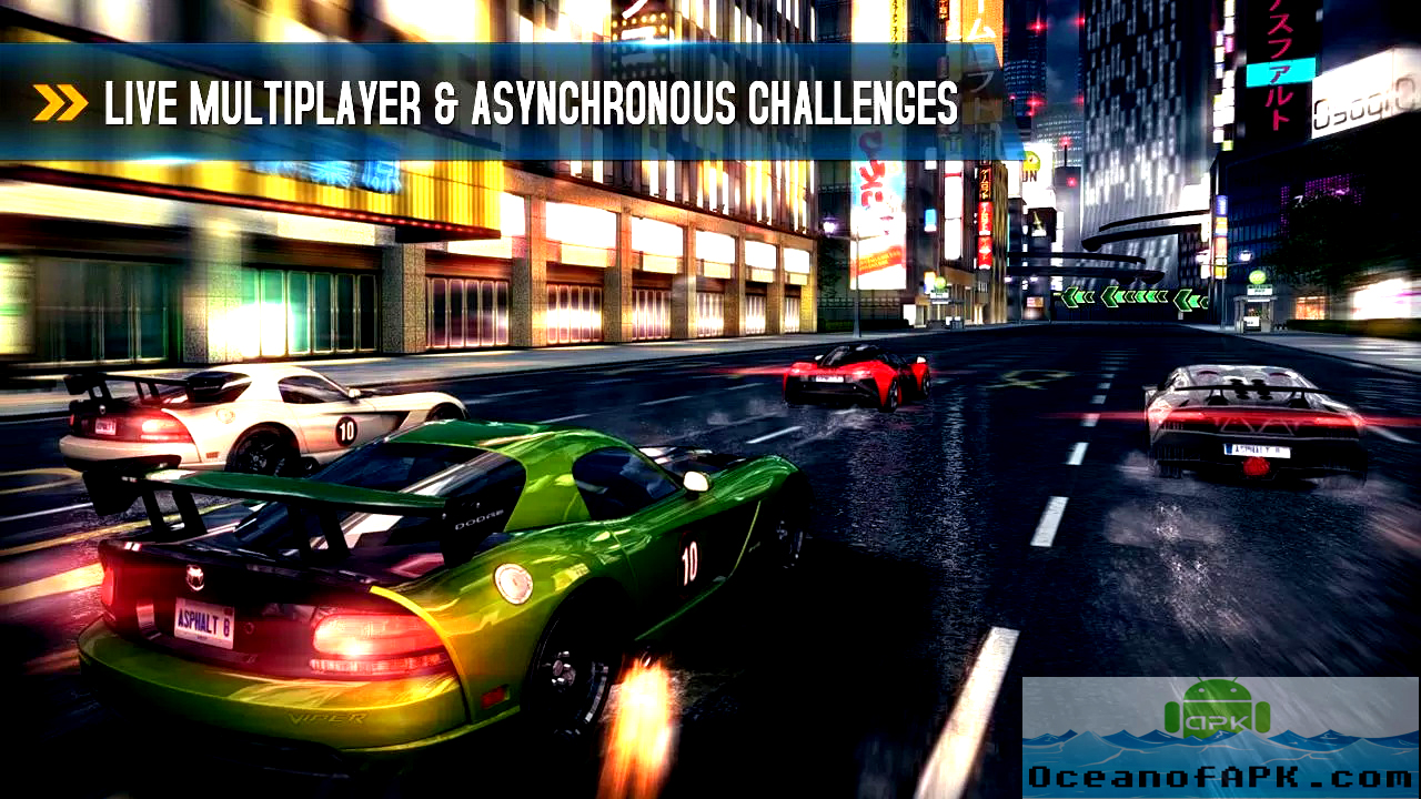 Asphalt 8 Airborne Modded APK Features
