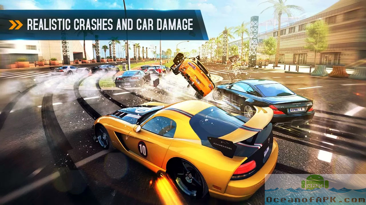Asphalt 8 Airborne Modded APK Setup Download For Free