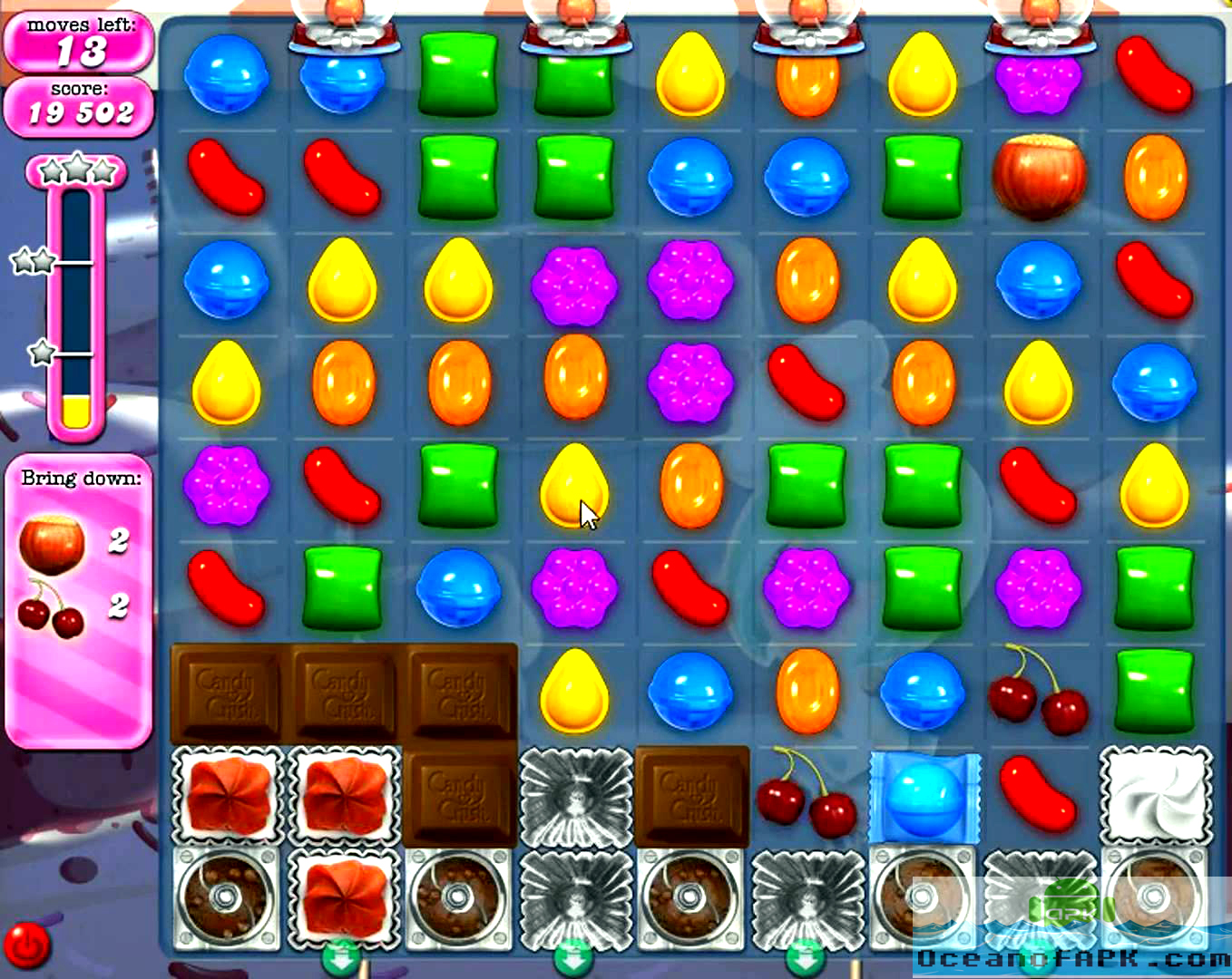 Candy Crush Saga Unlimited Life 150 Moves APK Features
