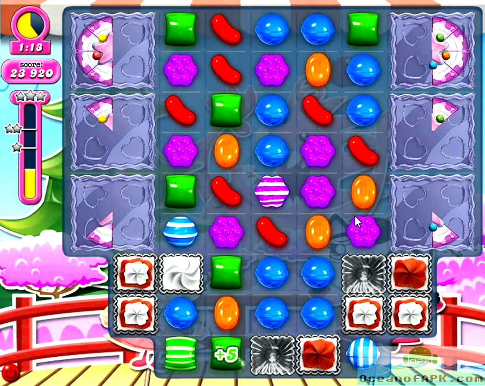 Candy Crush Saga Unlimited Life 30 Moves APK Features