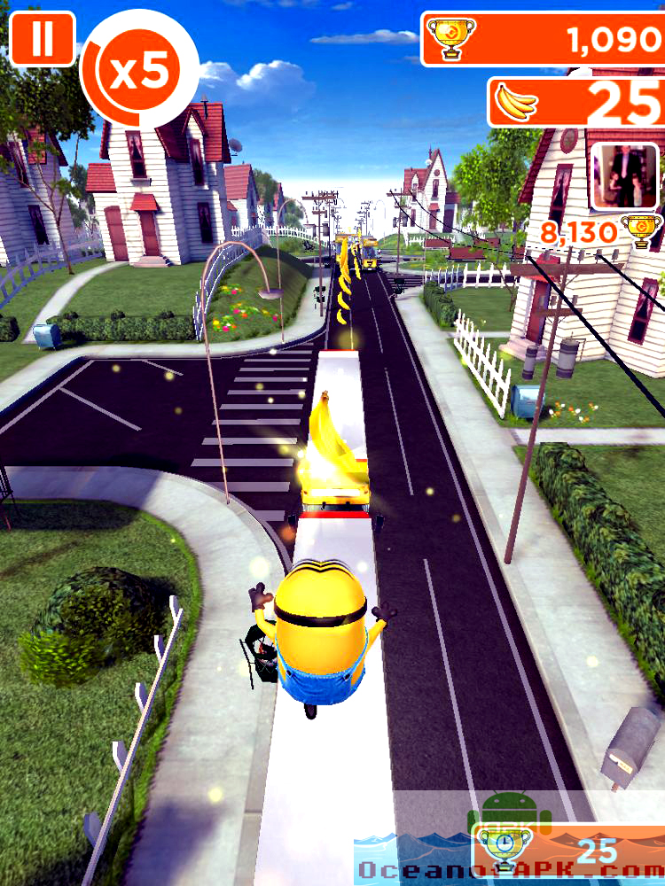 Despicable Me Minion Rush APK Features
