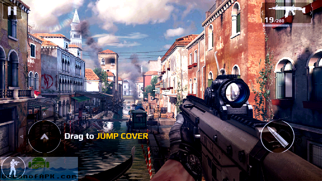 modern combat 5 mod apk unlimited money and gold for android