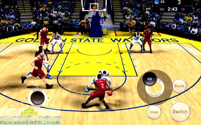 NBA 2K16 APK Features