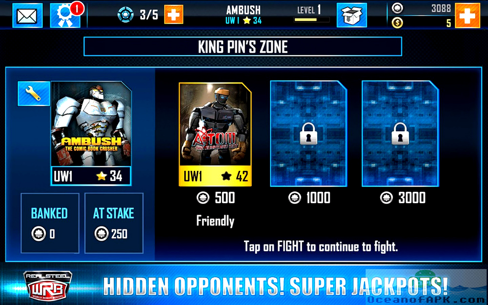 Real Steel World Robot Boxing APK Features