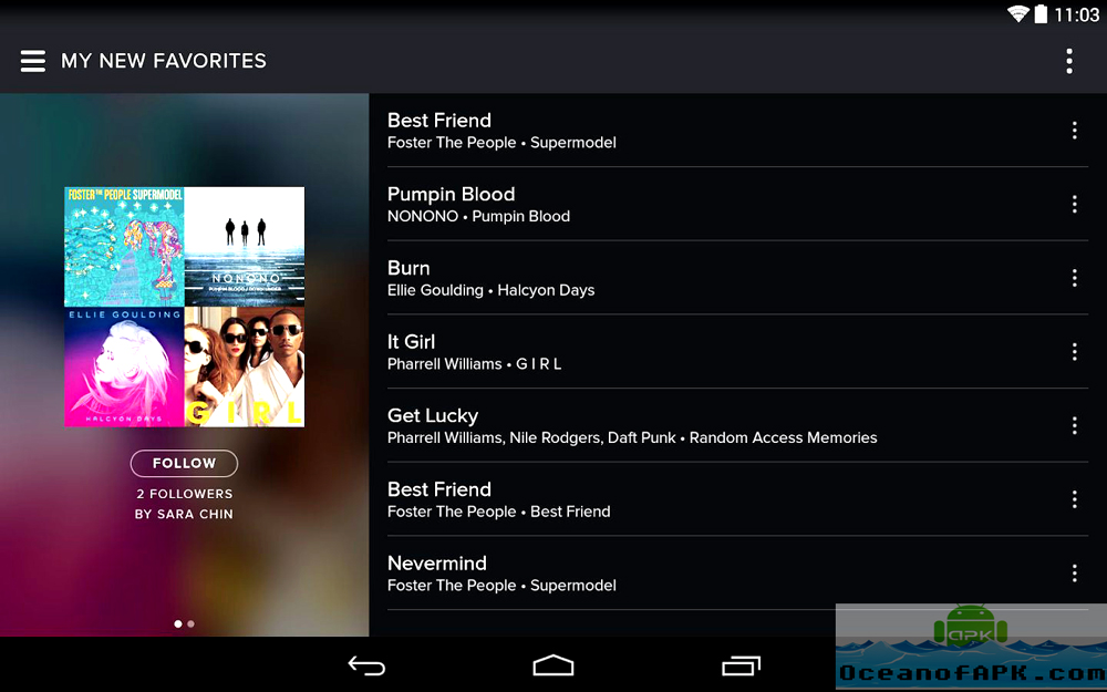 Spotify Music APK Features