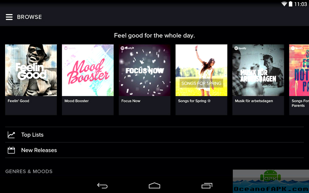Spotify Music APK Setup Free Download