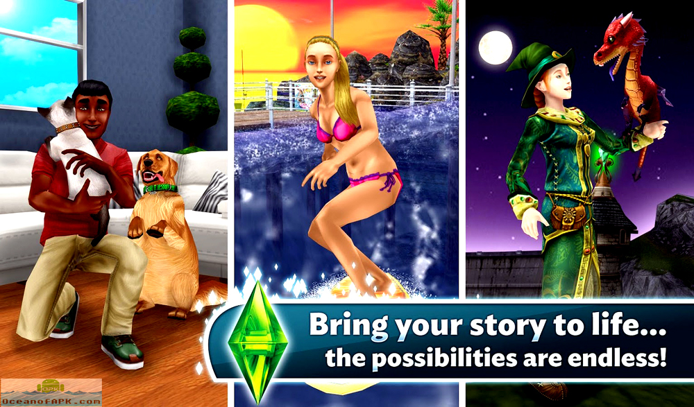 sims freeplay android mod apk