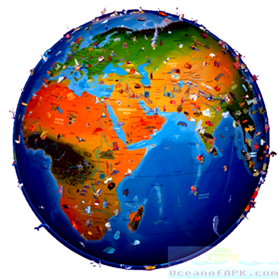 World Map Atlas 2015 Premium APK Free Download