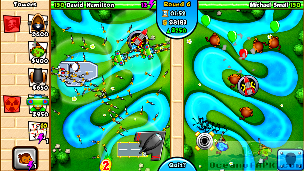 how to download bloons td 5 for free