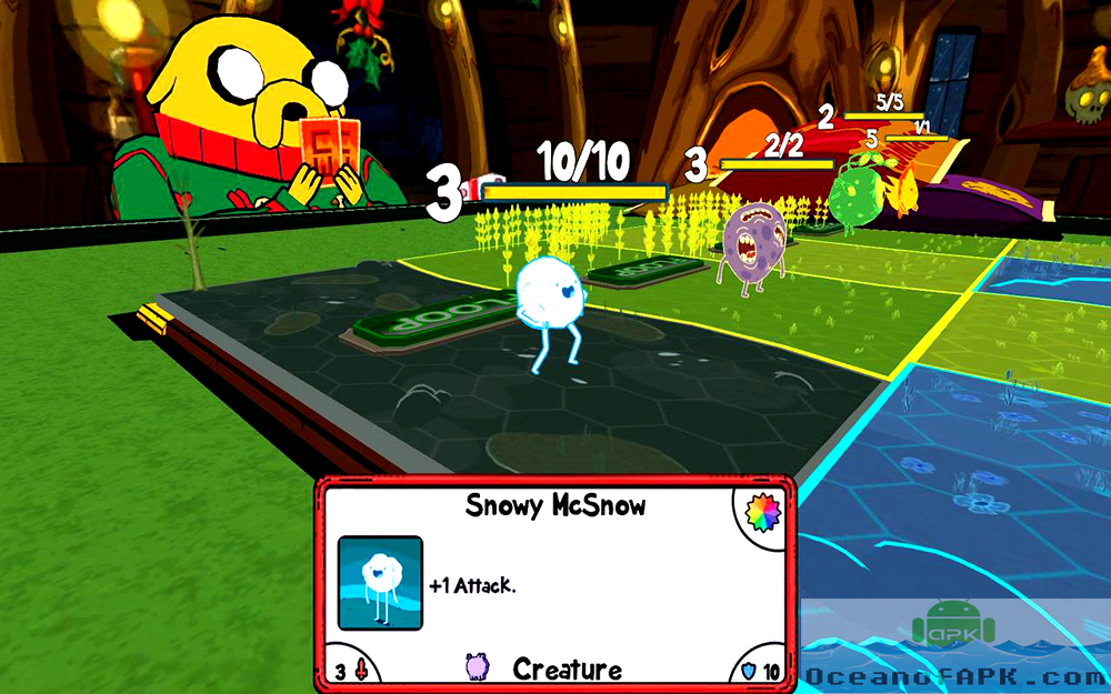 Card Wars Adventure Time APK Features