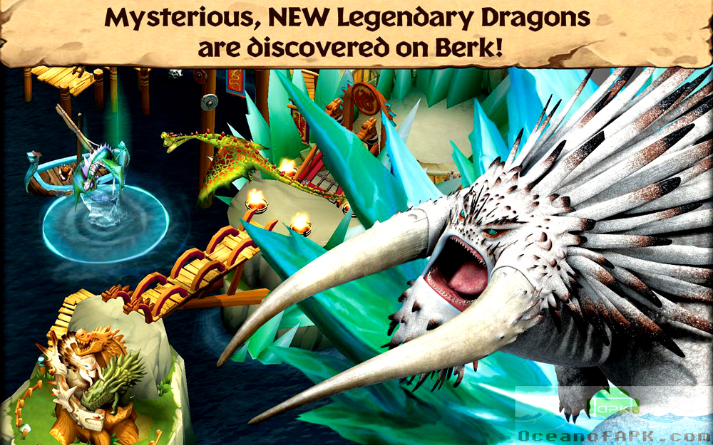 Dragons Rise of Berk APK Features