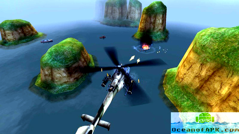 GUNSHIP BATTLE Helicopter 3D Mod Download For Free