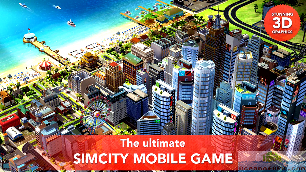 SimCity BuildIt APK Features