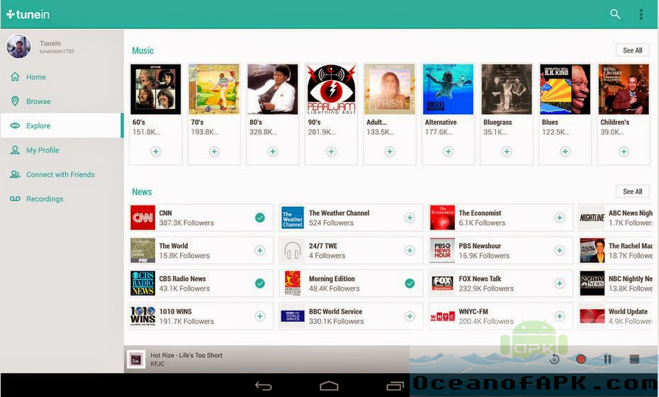 Tunein radio pro apk download gratis