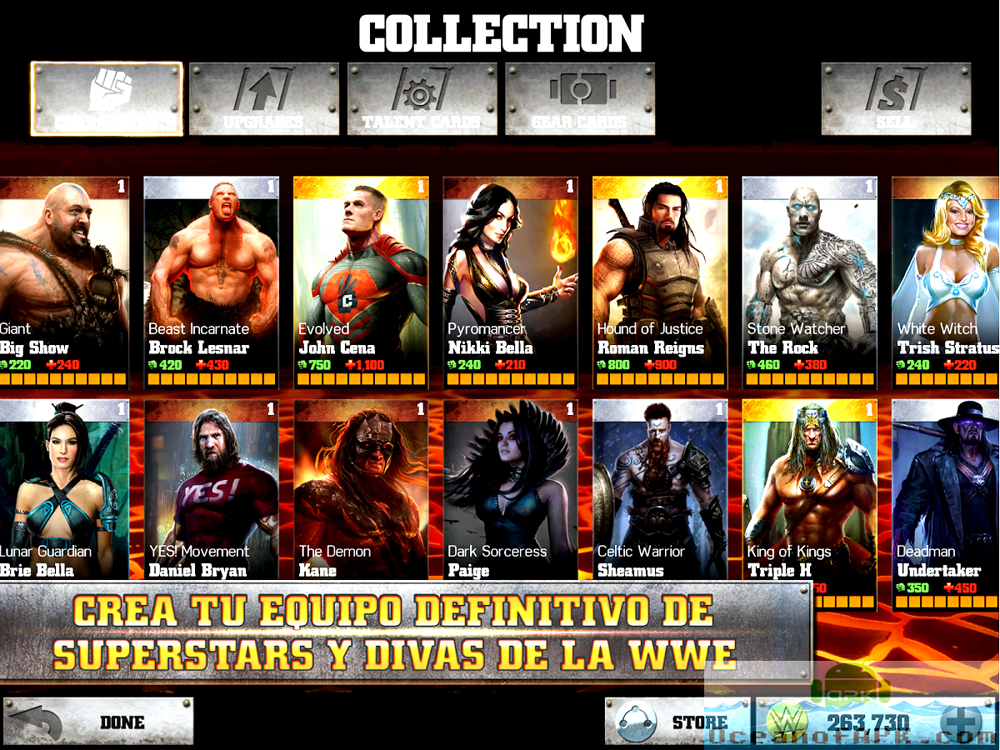wwe mod apk android 1