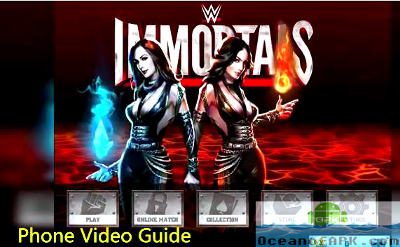 download wwe immortals apk and data
