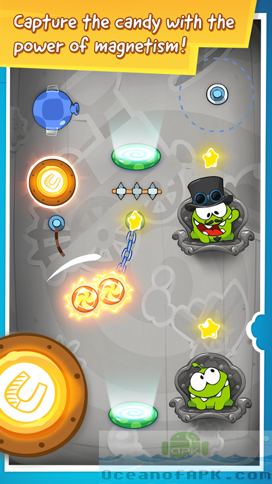 Cut The Rope Time Travel HD APK Features
