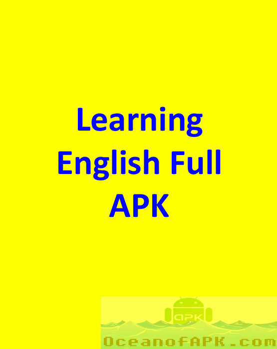 Learning English Full APK Free Download