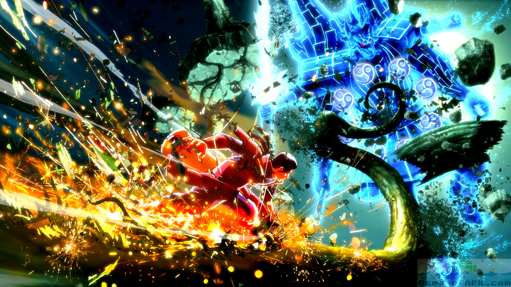 Naruto Shippuden Ultimate Ninja Storm 4 APK Setup Free Download