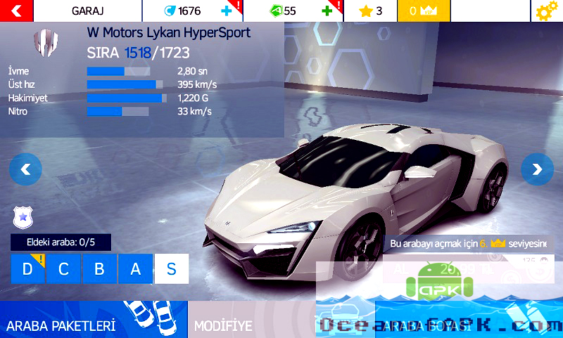 How to download asphalt 8 apk mod unlimited money and stars in.