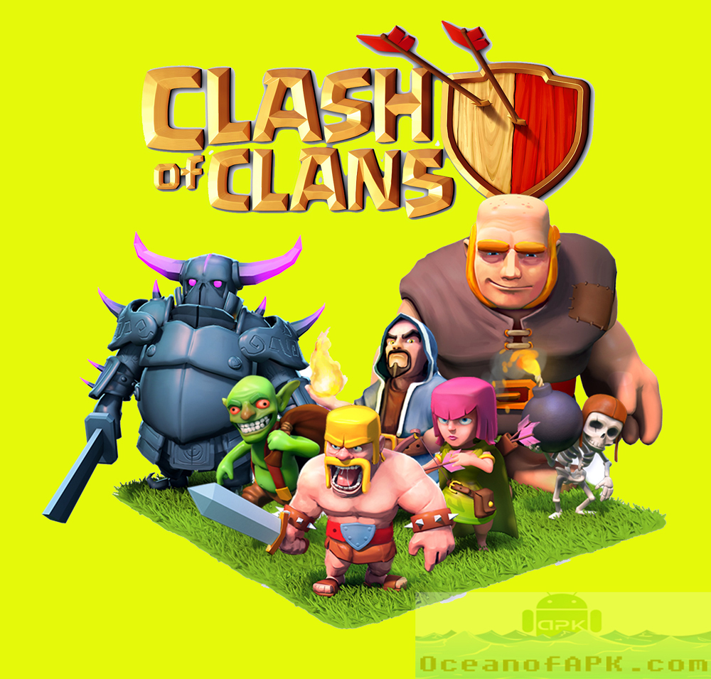 download clash of clans apk mod unlimited everything