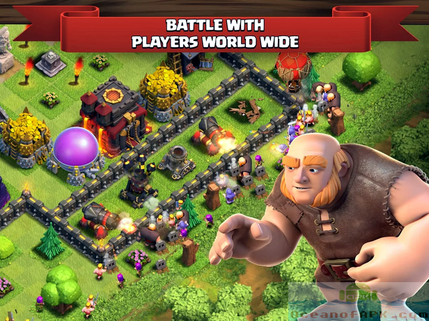 Clash of Clans Mod APK Setup Free Download