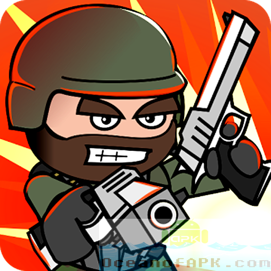 Doodle Army 2 Mini Militia Unlocked APK Free Download