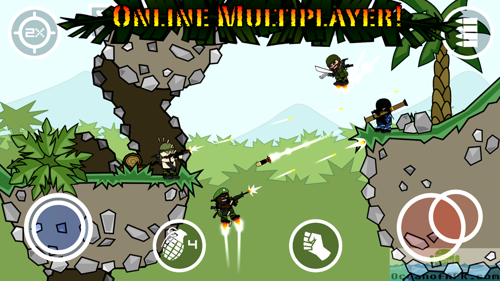 Doodle Army 2 Mini Militia Unlocked APK Setup Free Download