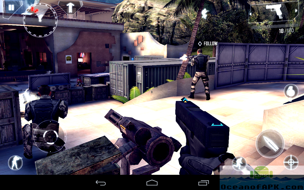 Modern Combat 4 Zero Hour APK Features