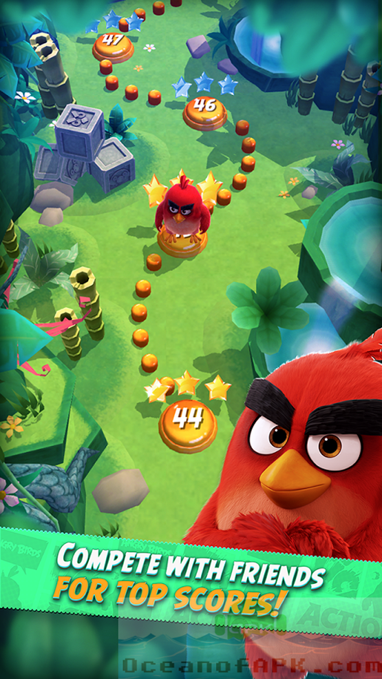 Angry Birds Action Mod APK Features