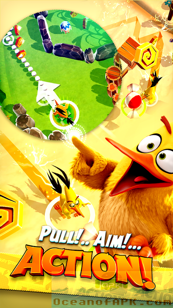 Angry Birds Action Mod APK Setup Free Download