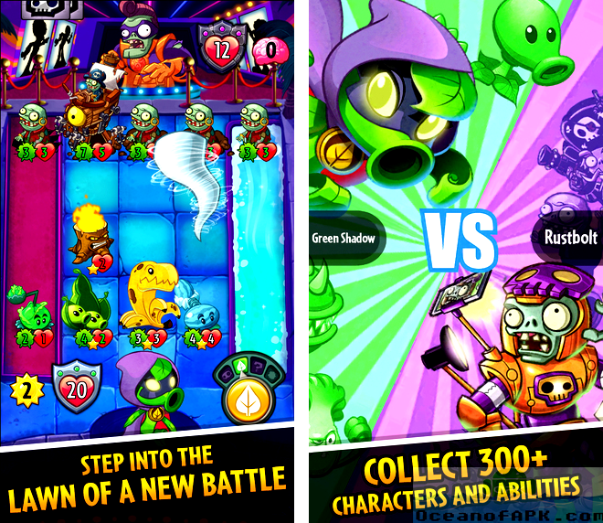 Plants vs Zombies Heroes Mod APK Features