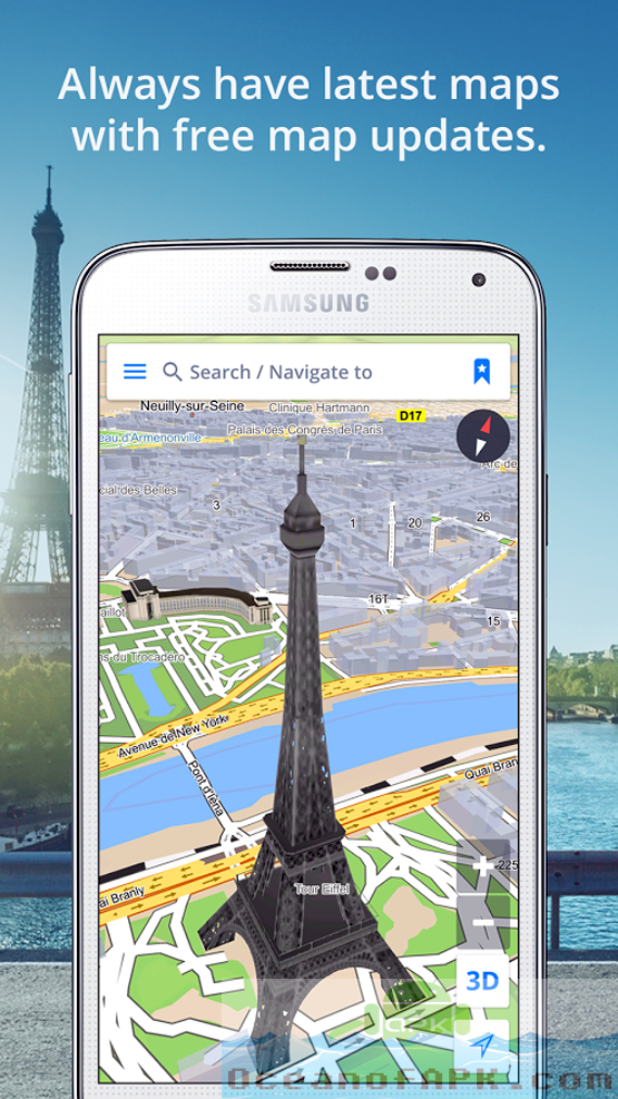 Sygic GPS Navigation and Maps v16.0.12 Features