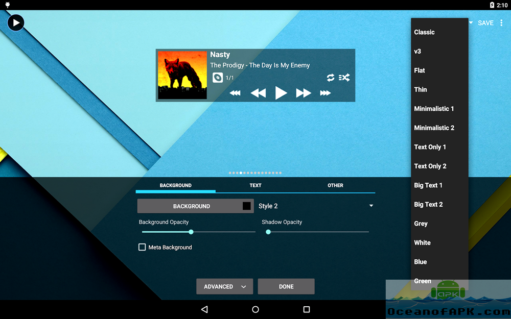 Download poweramp music player apk for android.