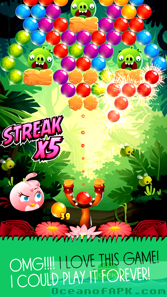 Angry Birds POP Bubble Shooter APK Download For Free