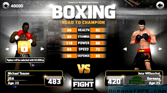 Boxing - Road To Champion APK Mod Unlimited Features