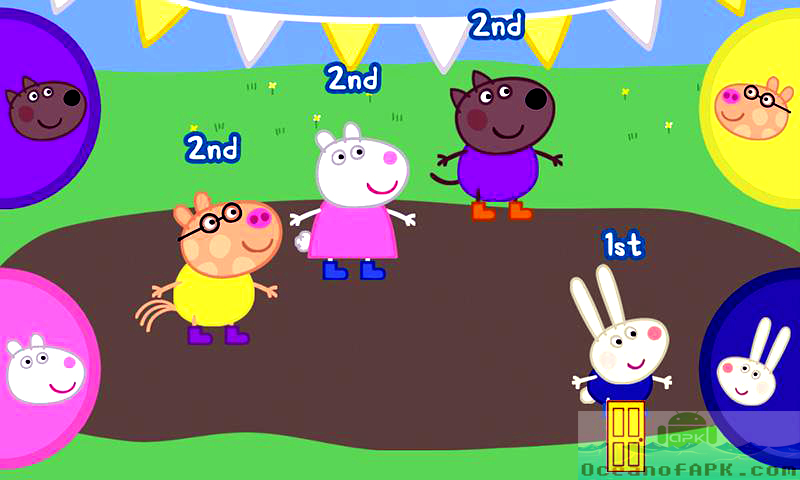 Peppa Pig's Sports Day Features
